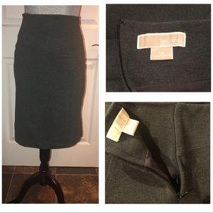 MICHAEL Michael Kors pencil skirt gray size 12